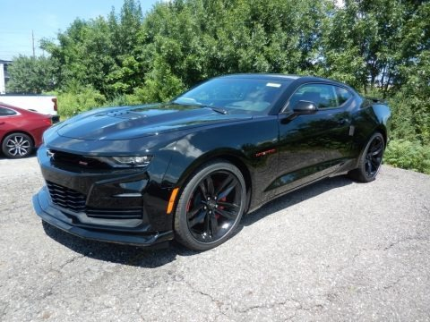 Black 2020 Chevrolet Camaro SS Coupe