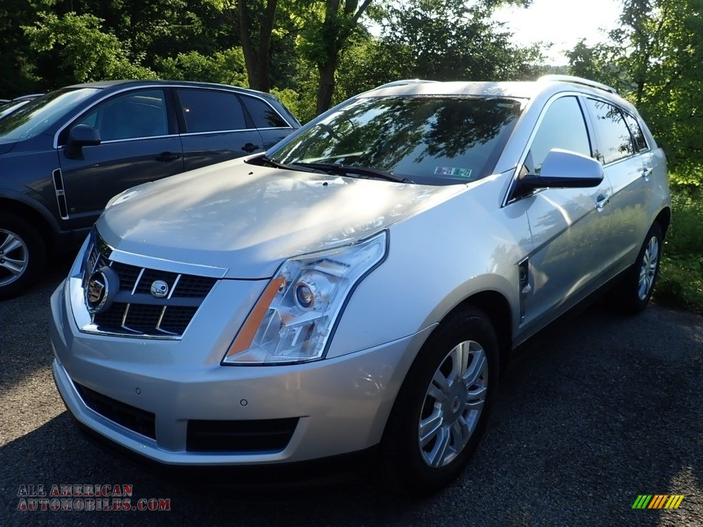 2012 SRX Luxury AWD - Radiant Silver Metallic / Ebony/Ebony photo #1