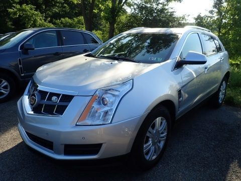 Radiant Silver Metallic 2012 Cadillac SRX Luxury AWD