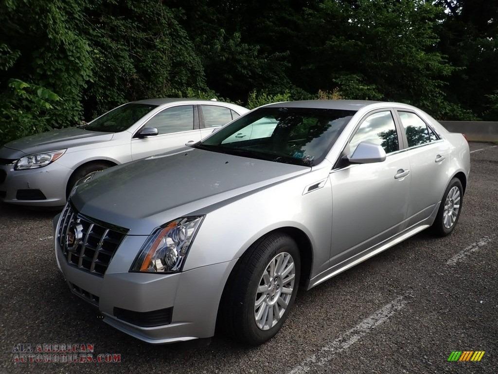 2013 CTS 4 3.0 AWD Sedan - Radiant Silver Metallic / Light Titanium/Ebony photo #1