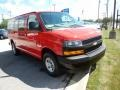 Chevrolet Express 2500 Cargo WT Red Hot photo #3