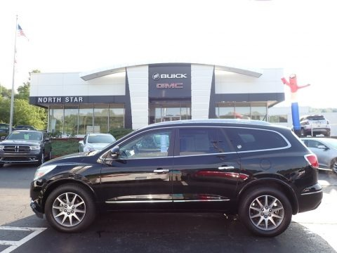 Ebony Twilight Metallic 2017 Buick Enclave Leather AWD