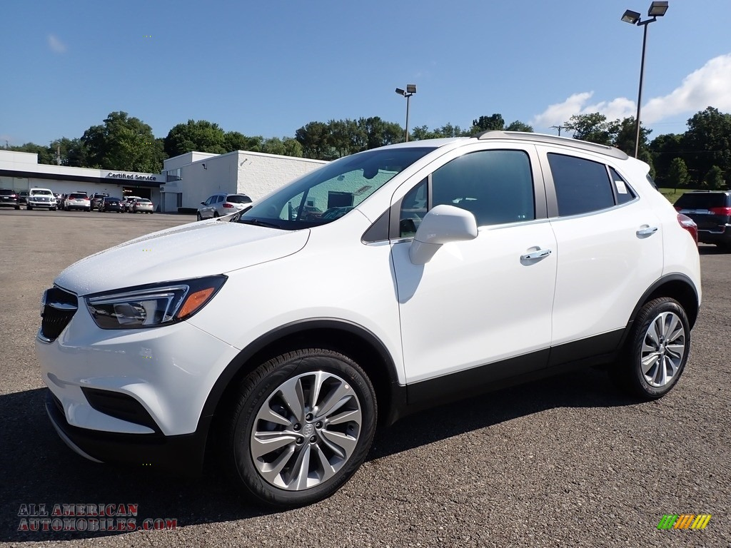 2020 Encore Preferred AWD - Summit White / Ebony photo #1