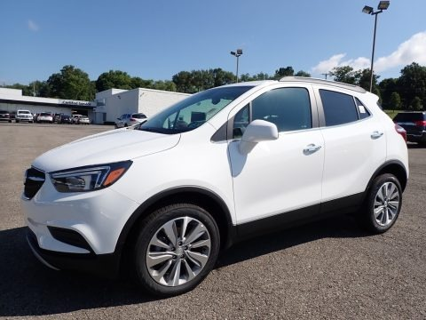 Summit White 2020 Buick Encore Preferred AWD
