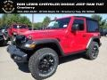 Jeep Wrangler Willys 4x4 Firecracker Red photo #1