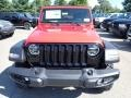 Jeep Wrangler Willys 4x4 Firecracker Red photo #2
