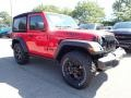 Jeep Wrangler Willys 4x4 Firecracker Red photo #3