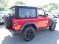 Jeep Wrangler Willys 4x4 Firecracker Red photo #5