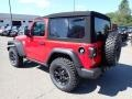 Jeep Wrangler Willys 4x4 Firecracker Red photo #8