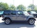 Jeep Wrangler Unlimited Sahara 4x4 Sting-Gray photo #4