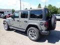 Jeep Wrangler Unlimited Sahara 4x4 Sting-Gray photo #8
