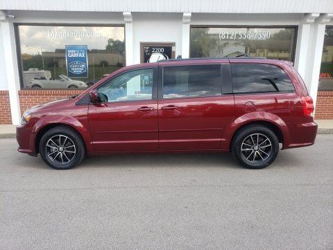 Octane Red 2017 Dodge Grand Caravan GT