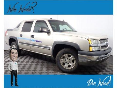 Silver Birch Metallic 2004 Chevrolet Avalanche 1500 4x4