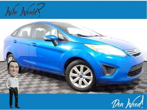 Blue Candy 2013 Ford Fiesta SE Sedan