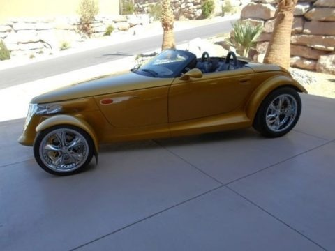 Inca Gold Pearl 2002 Chrysler Prowler Roadster