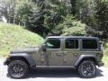 Jeep Wrangler Unlimited Willys 4x4 Sarge Green photo #1