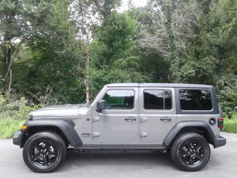 Sting-Gray 2020 Jeep Wrangler Unlimited Altitude 4x4