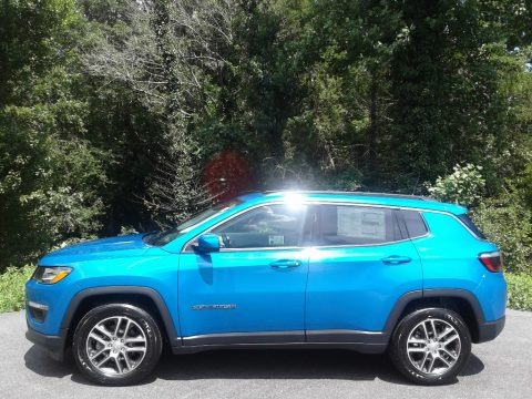 Laser Blue Pearl 2020 Jeep Compass Latitude