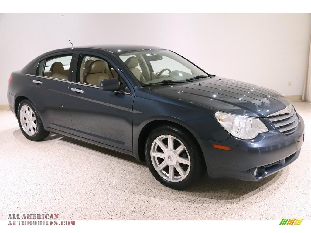 2008 Sebring Limited Sedan - Modern Blue Pearl / Medium Pebble Beige/Cream photo #1