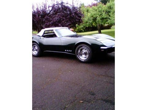 British Green 1968 Chevrolet Corvette Convertible