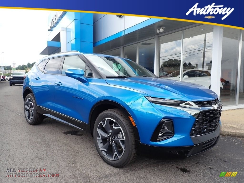 2020 Blazer RS AWD - Bright Blue Metallic / Jet Black photo #1
