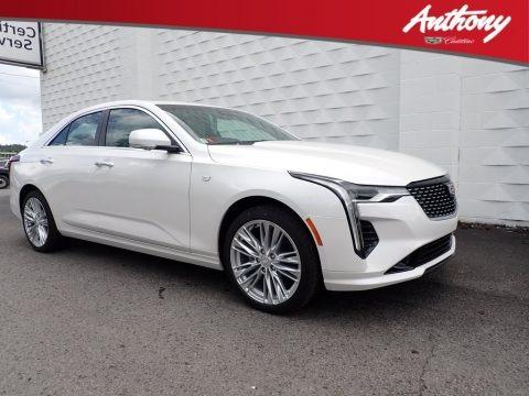 Summit White 2020 Cadillac CT4 Premium Luxury AWD
