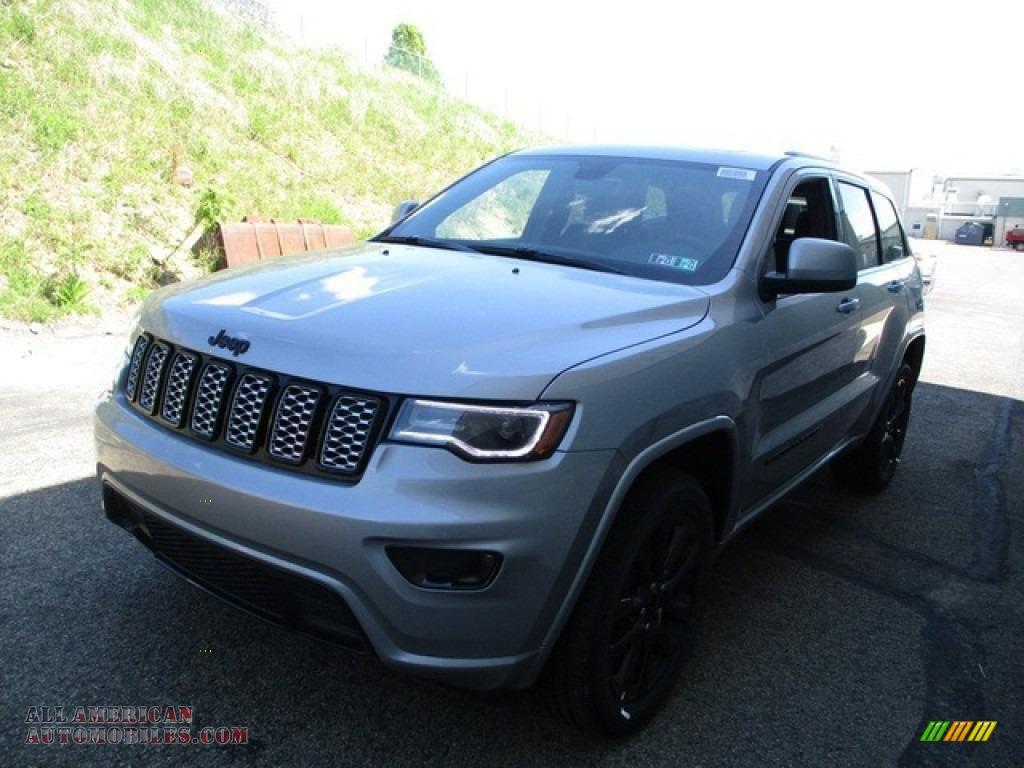 2020 Grand Cherokee Altitude 4x4 - Billet Silver Metallic / Black photo #7