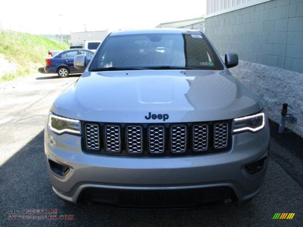 2020 Grand Cherokee Altitude 4x4 - Billet Silver Metallic / Black photo #8