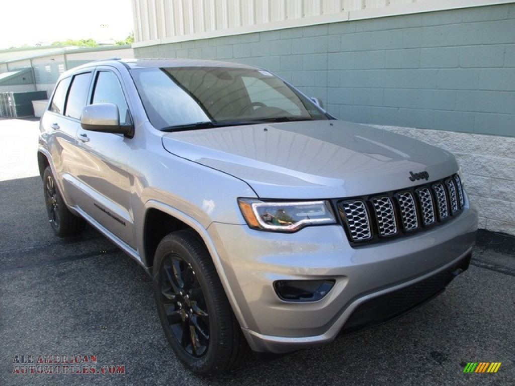2020 Grand Cherokee Altitude 4x4 - Billet Silver Metallic / Black photo #9
