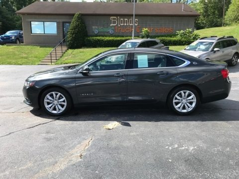 Nightfall Gray Metallic 2019 Chevrolet Impala LT