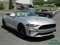 Ford Mustang EcoBoost Convertible Iconic Silver photo #7