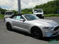 Ford Mustang EcoBoost Convertible Iconic Silver photo #19