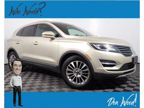 White Gold 2017 Lincoln MKC Reserve AWD