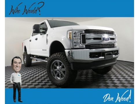 Oxford White 2018 Ford F350 Super Duty XLT Crew Cab 4x4