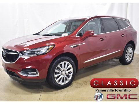 Red Quartz Tintcoat 2020 Buick Enclave Essence AWD