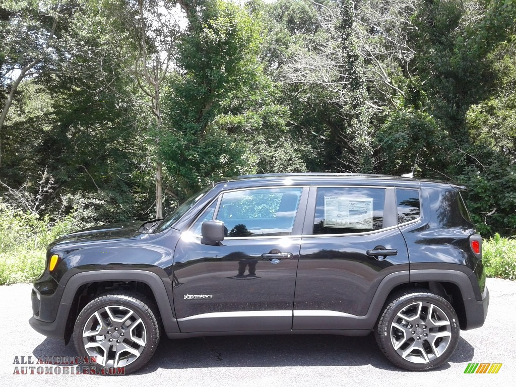 Black / Black Jeep Renegade Sport 4x4