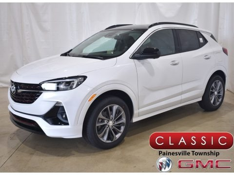 White Frost Tricoat 2020 Buick Encore GX Essence AWD