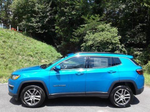Laser Blue Pearl 2020 Jeep Compass Latitude 4x4