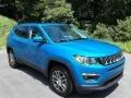 Jeep Compass Latitude 4x4 Laser Blue Pearl photo #4