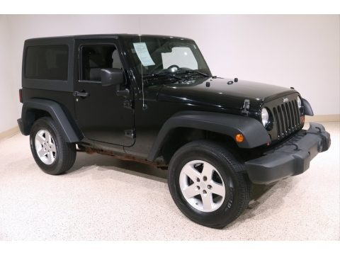 Black 2008 Jeep Wrangler X 4x4