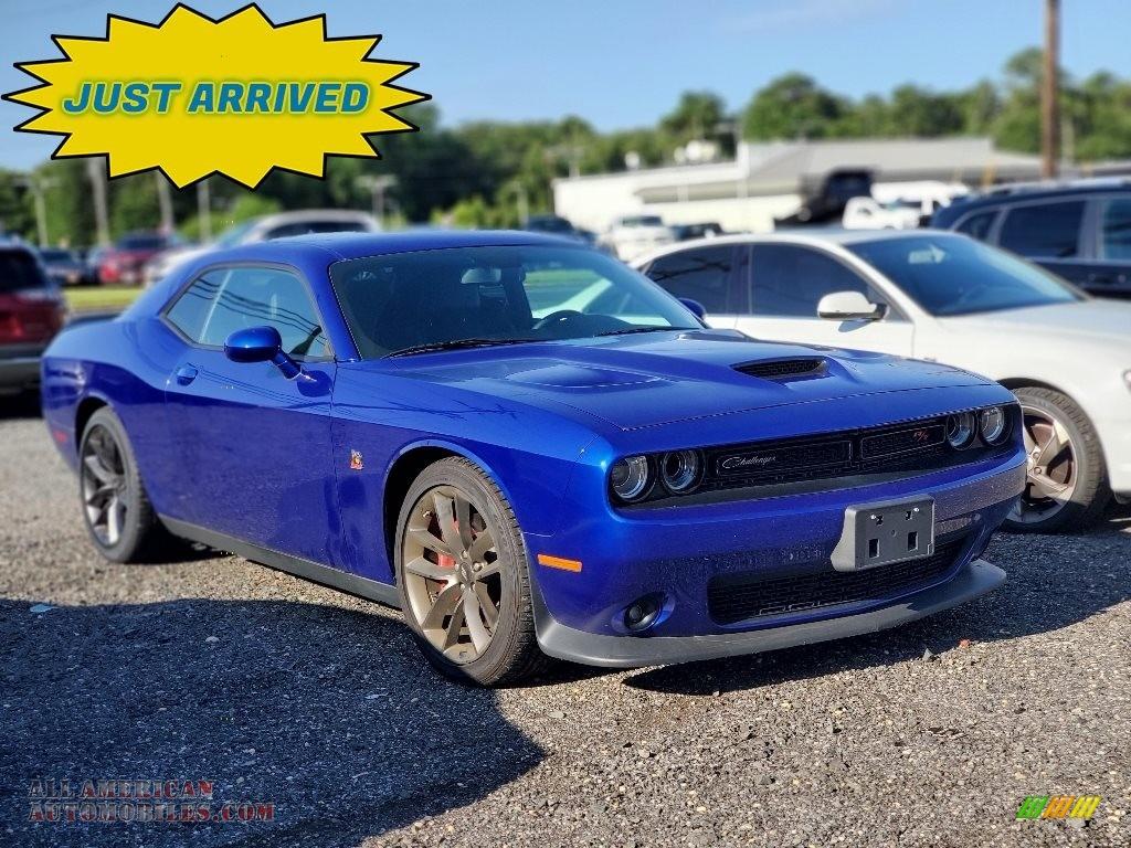 2019 Challenger R/T Scat Pack - Indigo Blue / Black photo #1