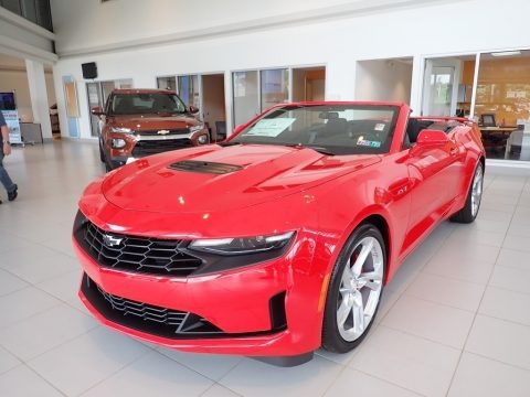 Red Hot 2020 Chevrolet Camaro LT Convertible
