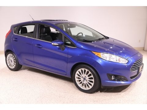 Performance Blue 2014 Ford Fiesta Titanium Hatchback