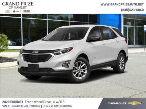 Summit White 2020 Chevrolet Equinox LS