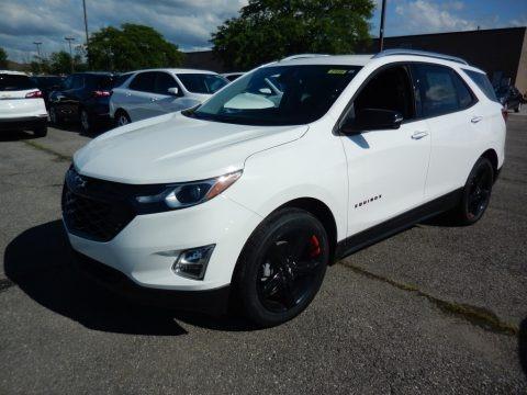 Summit White 2020 Chevrolet Equinox Premier