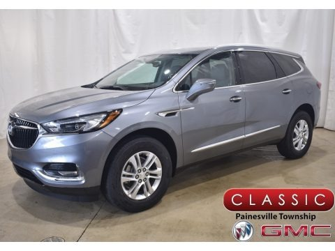 Satin Steel Metallic 2020 Buick Enclave Essence AWD