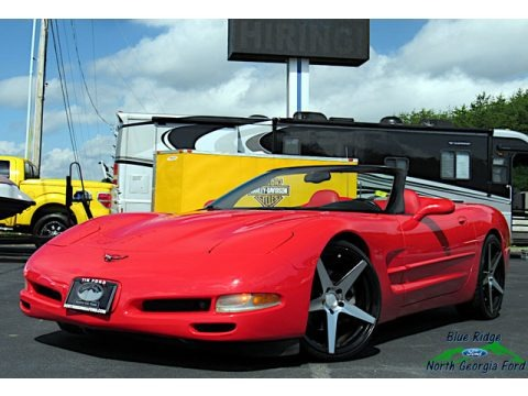 Torch Red 2002 Chevrolet Corvette Convertible