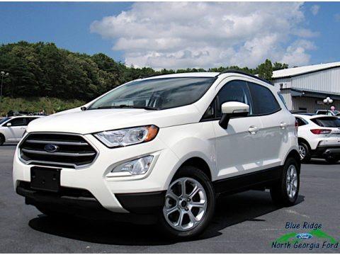 Diamond White 2020 Ford EcoSport SE