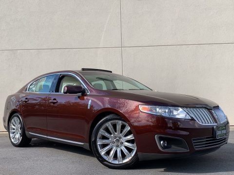 Cinnamon Metallic 2009 Lincoln MKS AWD Sedan