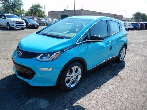 Oasis Blue 2020 Chevrolet Bolt EV LT